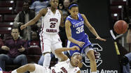 COLUMBIA, S.C. (AP) - Dawn Staley has done a lot in her five seasons at South Carolina. Add beating a top-five team to her list of accomplishments.