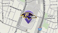 #RavensParade Tweet map and #RavensNation Tweets