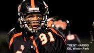 "<span style=""font-size: small;"">Winter Park defensive end Trent Harris figured he was on the verge of his first college football scholarship offer, but it came sooner than expected.</span>"