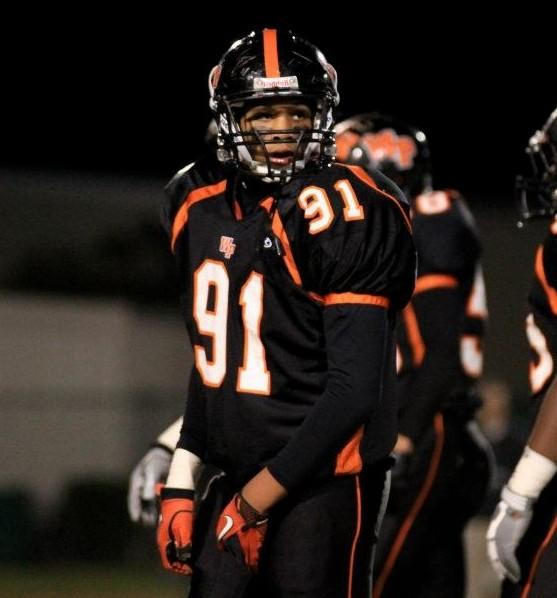 Winter Park 2014 DE Trent Harris received his first college offer this week from Boston College.