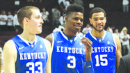 "Auburn coach Tony Barbee said Monday that Kentucky ""was as hot as anyone in the league,"" a statement Kentucky coach John Calipari obviously would not agree with."