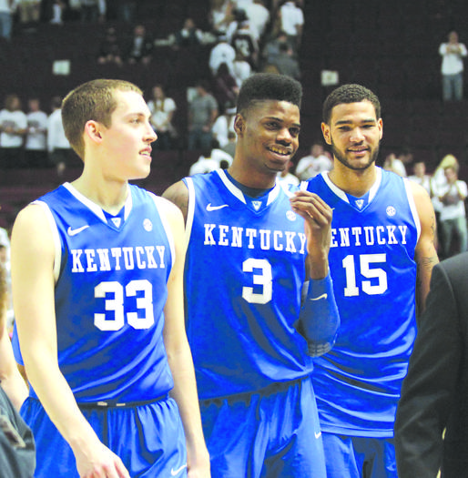 Kyle Wiltjer, Nerlens Noel, Willie Cauley-Stein