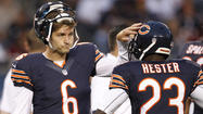<strong>Jay Cutler and Devin Hester:</strong> Can this marriage be saved?