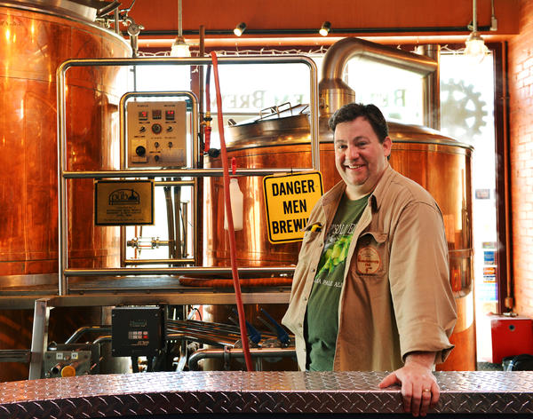 Homebrewer Michael Sexton's Black Rye Pale Ale was chosen as Lehigh Valley Beer Week's official beer. Bethlehem Brew Works is helping him brew his beer on a much larger scale.