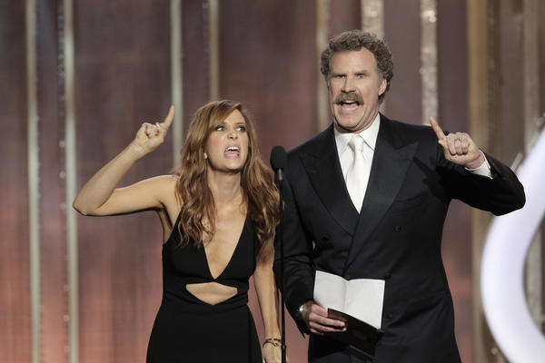 Kristen Wiig and Will Ferrell
