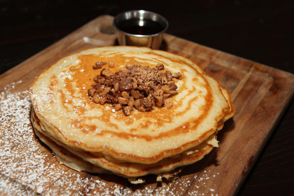 "Toffee pancakes at <a href=""http://chicago.metromix.com/venues/mmxchi-the-frontier-venue"" target=""_"">Frontier</a>, 1072 N. Milwaukee Ave."