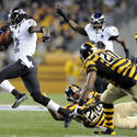 No. 19: Jacoby Jones' punt return vs. the Steelers