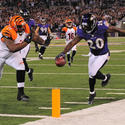 No. 22: Ed Reed's first pick six