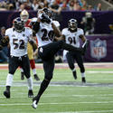 No. 4: Ed Reed intercepts Colin Kaepernick