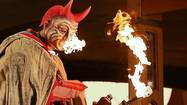Lyric Opera actor catches fire