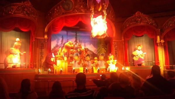 Disney shortened the length of the Country Bear Jamboree in October 2012.