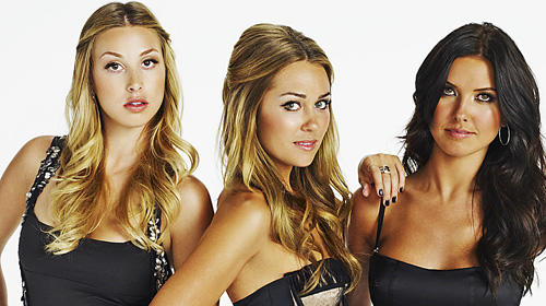 The MTV reality show's Whitney Port, left, Lauren Conrad and Audrina Patridge.
