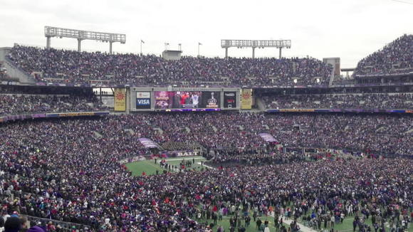 Ravens Super Bowl Victory Rally
