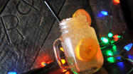 Great Baltimore cocktails, the Daisy Duke at Cowboys and Rednecks