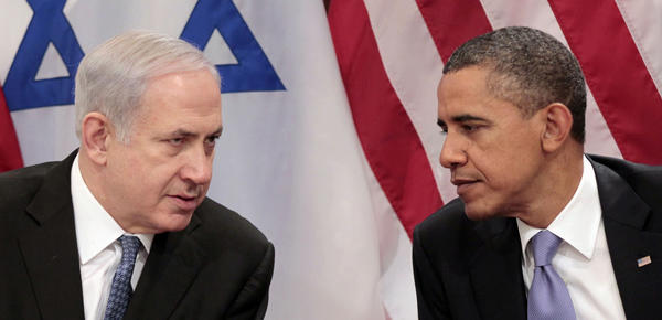 President Obama with Israeli Prime Minister Benjamin Netanyahu at the United Nations in 2011. The pair will meet in Israel for the first time this spring.