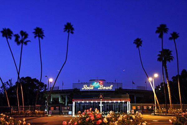 Now nearing 90, the Rose Bowl is in the middle of a renovation, but the sports continue. Besides hosting the Rose Bowl football game every January, the stadium is home field for UCLA football.