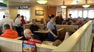 SPRINGFIELD, Mo. -- IHOP restaurants in Springfield starting serving up hundreds of free stacks of pancakes at 7 a.m. Tuesday.  People filed into the restaurant to fill up on the famous buttermilk bites, and the restaurant's staff started the daylong fundraiser for Children's Miracle Network Hospitals.