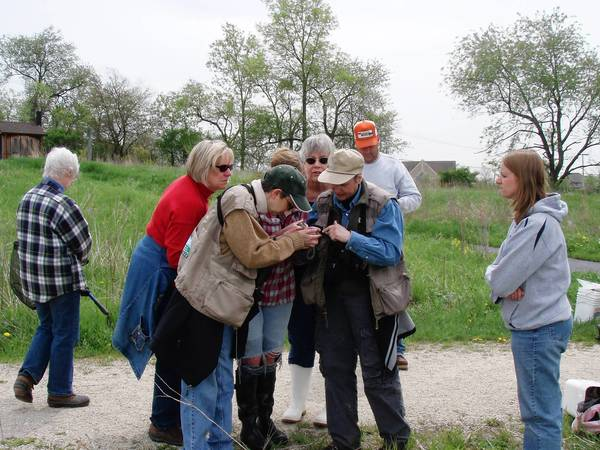 St. Charles residents during a past nature event sponsored by the St. Charles Park District. The district has an upcoming event that will focus on training volunteers to listen for frog calls to help track different species.