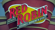Because the Ravens won the Super Bowl, Red Robin locations in Maryland are giving away their Tavern Double Burger and Bottomless Steak Fries for free tonight, with any purchase of an entree, salad or another burger.