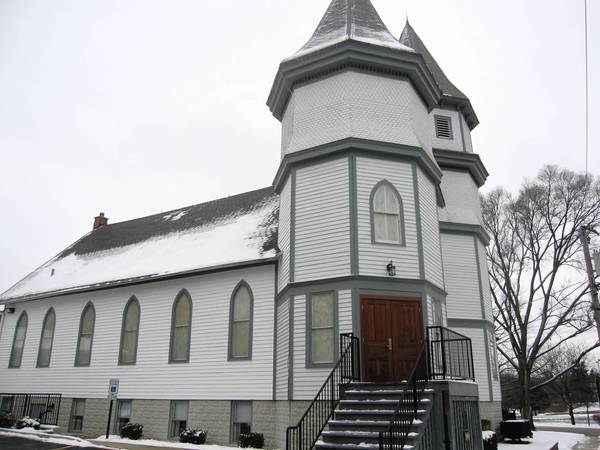 The historic landmark Twin Towers Chapel at 9967 W. 144th St. benefited from Orland Park's facade improvement program in 2008 and 2009.