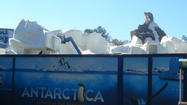 Picture it: Construction shots of SeaWorld Orlando's Antarctica