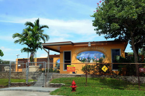 The Pompano Pet Lodge in Pompano Beach.  The Pompano Pet Lodge  is expanding to open a second location at the former (historic) roller rink on Federal Highway. There he'll open 14 new wings for dog boarding and day care. The Country Inn Pet Resort in Davie is also expanding by adding 7,500 feet of dog boarding space.
