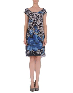 "Sete di Jaipur short dress from <a href=""http://www.yoox.com/us/34293487AB/item?dept=women&tp=11227&utm_campaign=affiliazione_us&utm_content=10&utm_medium=affiliazione&utm_source=linkshare_us#cod10=34293487AB&sizeId="">Yoox.com</a> for $29."