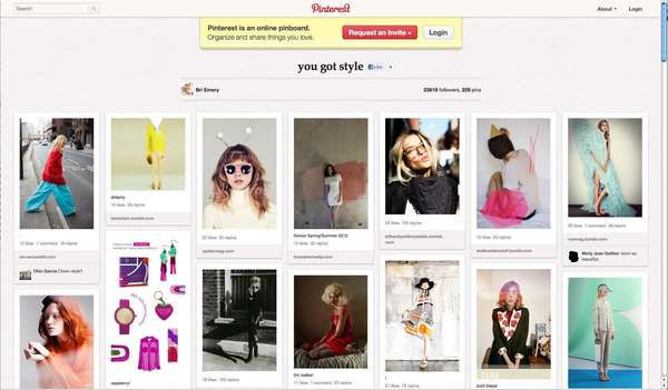 Popular social networking site Pinterest is in talks to raise more money at a blockbuster $2-billion to $2.5-billion valuation.