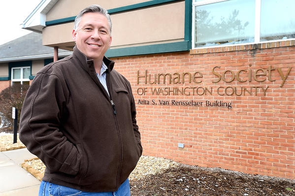 Michael Lausen is the new executive director of The Humane Society of Washington County Inc.