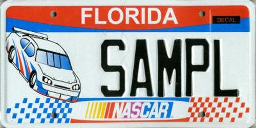 <b>NASCAR</b> <br> Effective Oct. 1, 2007.<br> <br> <li> Total plates issued in 2012: 2,922 <li> Organizations receiving proceeds: NASCAR.