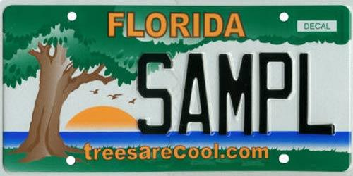 <b>Trees Are Cool</b><br> <br> Effective Oct. 1, 2007.<br> <br> <li> Total plates issued in 2012: 2,849 <li> Organizations receiving proceeds: Florida Chapter International Society of Arboriculture www.floridaisa.org