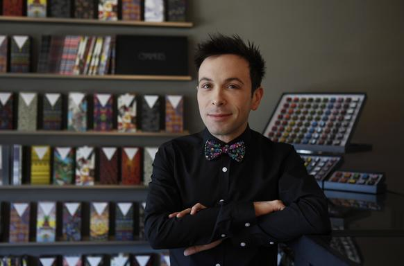 Jonathan Grahm, 28, took over the family chocolate business at the age of 21. He's currently on a Valentine tour of Japan.