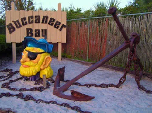 Weeki Wachee Springs' Buccaneer Bay water park