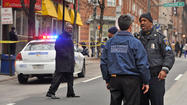 Three teens were stabbed, one fatally, in downtown Baltimore Tuesday afternoon, near the route of the parade celebrating the Ravens Super Bowl victory, police said.