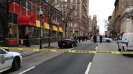 Multiple stabbing in downtown Baltimore [Pictures]