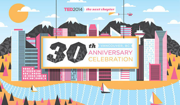 The main TED Conference will move from Long Beach to Vancouver in 2014.