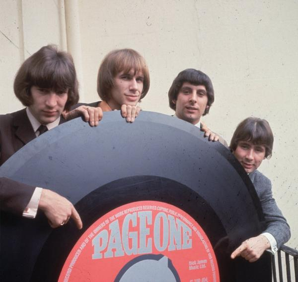 Reg Presley, far right, of the '60s band the Troggs, died Monday at age 71.