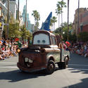 Cars attraction at Walt Disney World