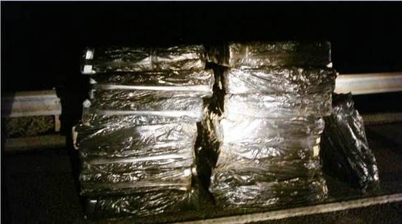 Twenty-six bundles of marijuana valued at more than $1,790,000.