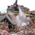 Splash Mountain -- You must be 40 inches tall