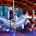 Sea Carousel -- You must be 42 inches tall