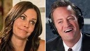 """Cougar Town"" star Courteney Cox may soon be dating around — on ""Friends"" friend Matthew Perry's show ""Go On."""