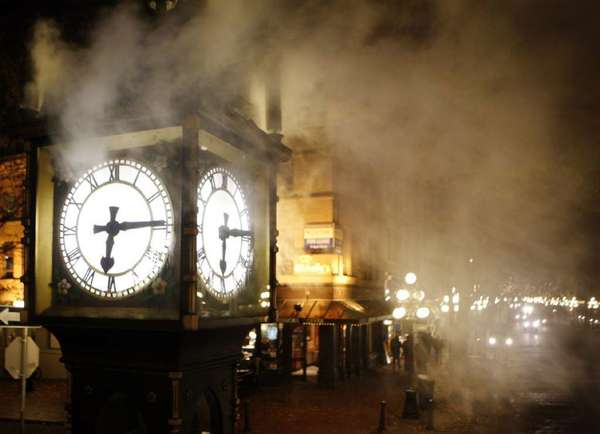 "The Gastown Steam Clock in Vancouver, Canada, is a treat for the tourists and locals who stop to watch the clock blow its steam every 15 minutes. A ""Discover Gastown"" package lets visitors learn more about the historic district."