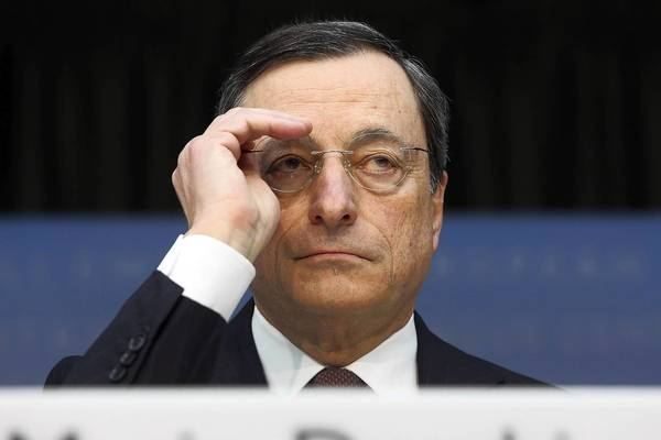 "Politics and scandal involving European leaders have sapped confidence that took hold after European Central Bank President Mario Draghi promised in July to do ""whatever it takes"" to weather the debt crisis."