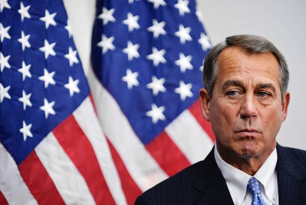 House Speaker John A. Boehner (R-Ohio) encouraged lawmakers from both parties to try to resolve the issue of citizenship for illegal immigrants.