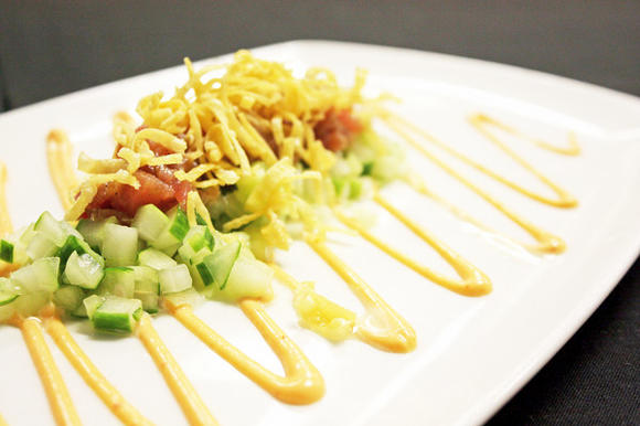 Tuna tartar (photo courtesy of Pesca)