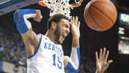 LEXINGTON (AP) - Julius Mays' 15 points led five Kentucky players in double figures, and the Wildcats blew out South Carolina 77-55 Tuesday night to move within a game of first-place Florida in the Southeastern Conference.