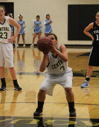 Andover Central's girls defended home court with a 74-40 win over Goddard Eisenhower, but the boys' squad fell to the Tigers 64-51.