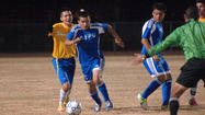 BRAWLEY — An already-tight Imperial Valley League boys' soccer title race drew even tighter Tuesday when Central Union High shut out Brawley Union High, 2-0, here.