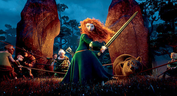 "Disney/Pixar's ""Brave"" won multiple VES Awards."